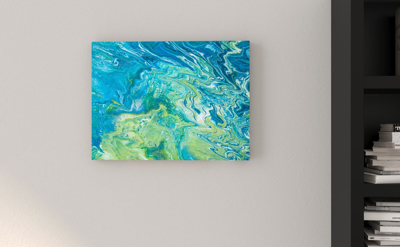 Abstract Art Desalination on canvas