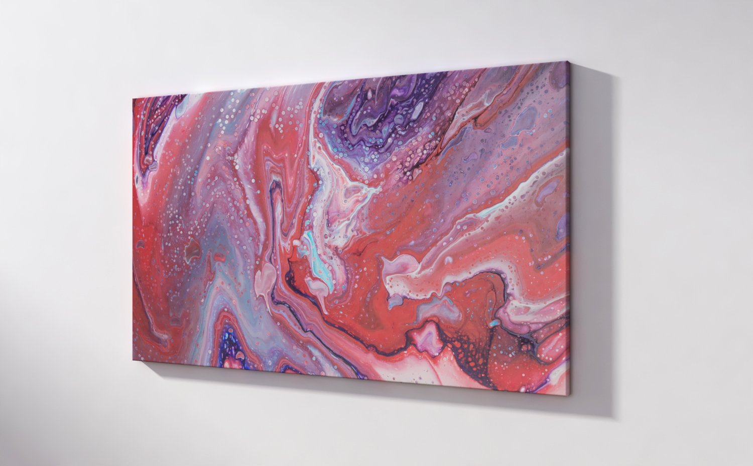 Abstract Art First date on canvas
