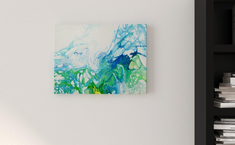 Abstract Art Garden