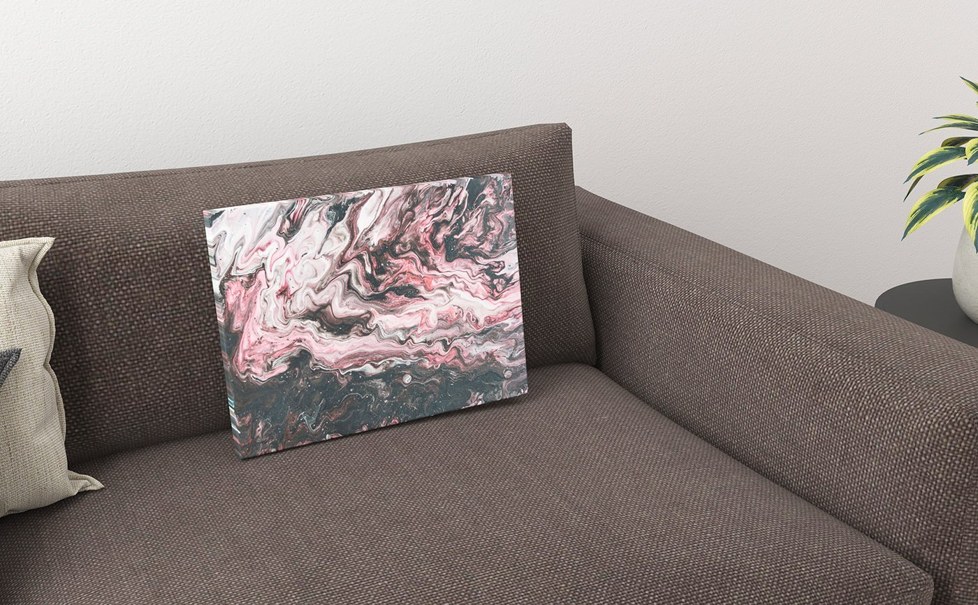 Abstract Art I-live-with-her-heart-tore-it-apart-canvas
