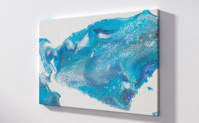 Abstract Art Ocean foam