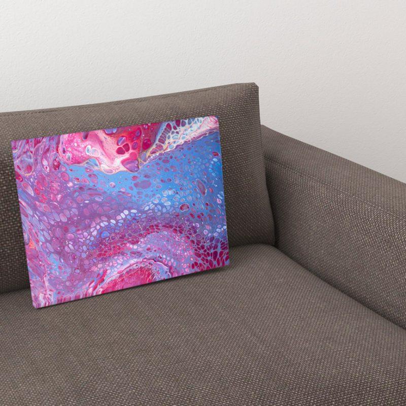 Abstract Art Octopus on canvas