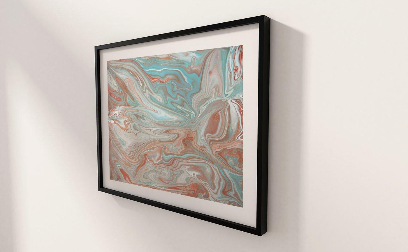 Abstract Art Sahara