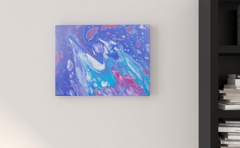 Abstract Art Whirlpool on canvas